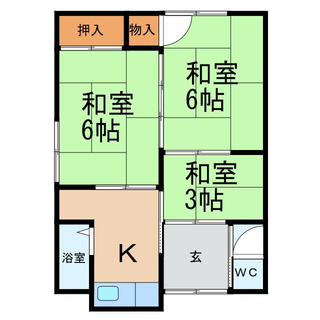西庄平屋建アパート